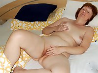 Randy older babes with soaked vagina
