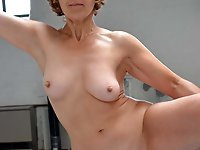 Hot-looking mature cuties are playing themselves