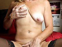 Mature mommies get naked
