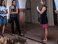 Older prostitutes in a xxx gallery