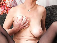 Naughtiest mature cougars in their solo play